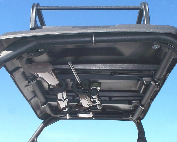 Quick-Draw™ Overhead Gun Rack for UTV's with 10